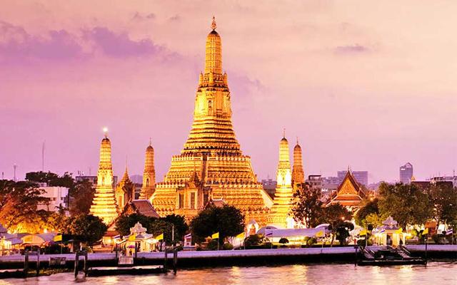 Đền Wat Arun - Biểu tượng của đất nước Thái Lan